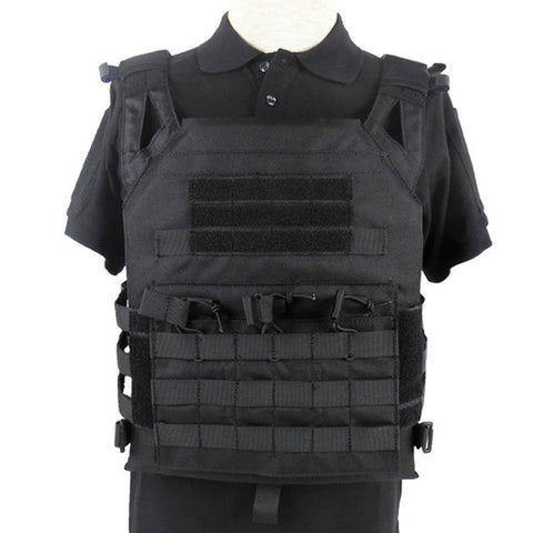 OneTigris Light-Weight JPC Plate Carrier Hunting Vest Tactical MOLLE Plate Carrier Vest for Paintball Airsoft