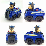 Russian Cartoon Canine Patrol Puppy Dog Toys Car Action Figures Model Kids Gift Patrulla Canina juguetes