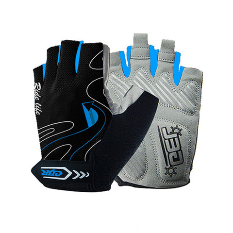 Cycling Gloves Guantes Ciclismo Non-Slip Breathable Mens & Women's Summer Sports Bike Gel Pad Bicycle Cycling Half Finger Gloves