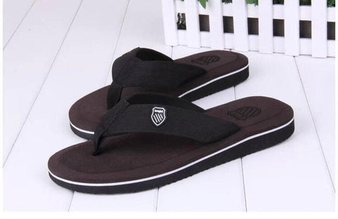 2017 New Summer Flat Sandals and slippers Bakham Leisure Soft Flip Flops EVA Beach Slipper and SandalsFor Men Size 40-44
