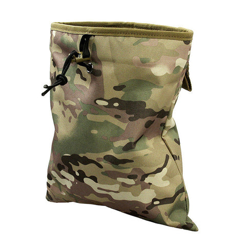 Military Molle Belt Magazine Pouch Tactical Magazine Dump Drop Reloader Pouch Airsoft Accessory Utility Bag Hunting Bags