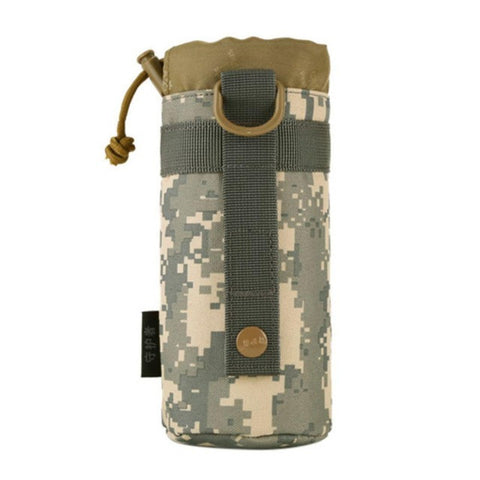 Outdoor Tactical Bag Gear Military Molle System water Bottle Pouch  Bag Kettle Pouch Holder CY1