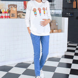 High Quality Maternity Belly Pants Causal Trousers for Pregnancy Wear Plus Size Summer and Spring Clothes for Pregnant Women
