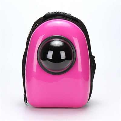 Hot Space Capsule Shaped Pet Carrier Breathable Multifunction backpack for dog cat outside Travel portable Dog Carry bag