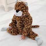 Fashion Baby Boy Girl Clothes Cute 3D Animal Infant Baby Winter Or Autumn Thicken Newborn Baby Clothing Climb Romper Baby Romper