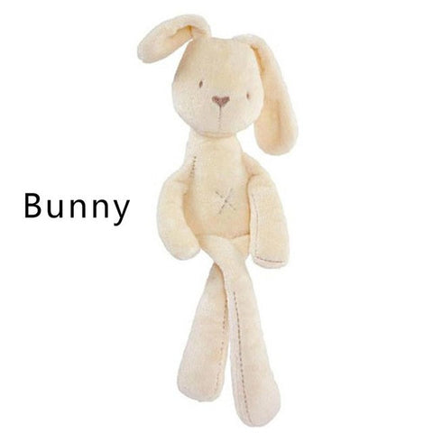 35*8cm Cute Bunny Baby Soft Plush Toys Mini Stuffed Animals Kids Baby Toys Smooth Obedient Sleeping Rabbit Doll