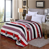 Blanket Coral Fleece Blanket Throws on Sofa/Bed/Plane Travel Plaids Limited Battaniye Big Size 230cmx200cm Home textiles