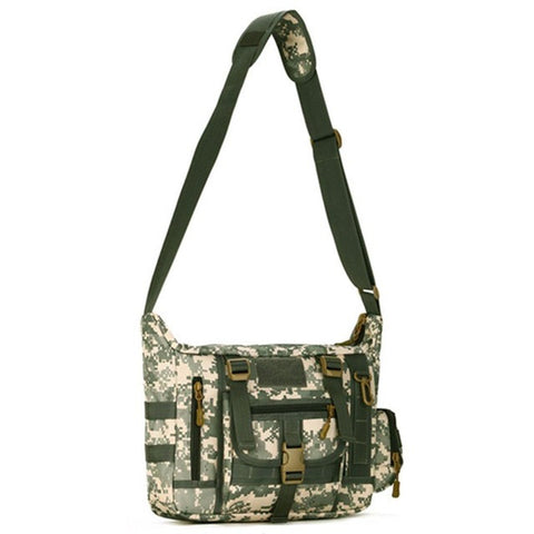 Outdoors  Military Tactics Bag ACU CP Camouflage Army Black Men Bag Camp Mountaineer Travel Duffel Messenger Bag