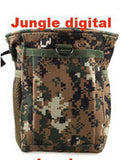 New Large Capacity Waist Molle Military Tactical Airsoft Paintball Hunting Folding Mag Recovery Dump Pouch