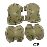 SINAIRSOFT High Qualty Field Elbow & Knee Pads Knee Pads & Elbow Pads For Sports Set Tactical Paintball Knee Protector