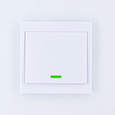 86 Wall Panel Remote Transmitter 1 2 3 Button Sticky RF TX Smart Home Room Living Room Bedroom Wireless Remote 315mhz433Mhz