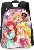 3D Princess Barbie Mini Round School Backpack For Toddler Baby Kindergarten Girls Boys Schoolbags Kids Book Bag Mochila Infantil
