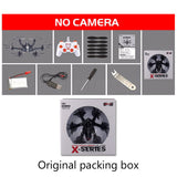 Free shipping MJX X800 RC helicopter drone quadcopter with C4015 Wifi FPV HD HD Camera  VS MJX X600 X400 Black White
