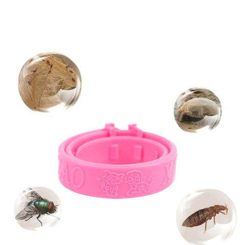 Interesting Pet Cat Flea Collar Soft Silicone Collar Adjustable Practical  Reject Tick Mite Louse Kitten Collar