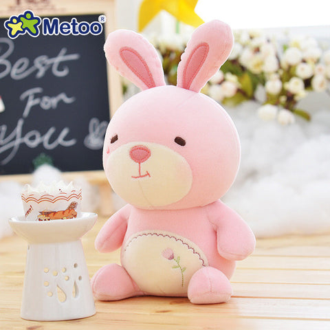 7.5 Inch Plush Sweet Lovely Stuffed Baby Kids Toys for Girls Birthday Christmas Gift 19cm Lion Rabbit Bear Panda Metoo Doll