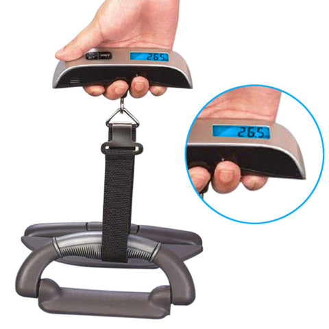 High Quality LCD Digital scale Electronic Portable Luggage scale Suitcase Travel Bag Weight Hanging Scales