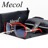 Mecol 2017 Oculos High Quality Sunglasses Women Glasses Vintage with Box Sunglasses Women Brand Designer Ladies Sun Glasses M071
