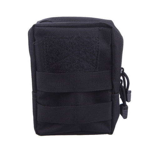 Tactical Molle Pouch Waist Bag Military Hunting Waist Fanny Phone Bag Men Waterproof Multifunction Bag with Side-release buckle