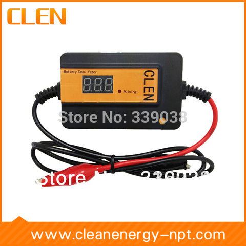 400Ah Battery Desulfator Lead Acid Batteries Regenerator Car Battery Maintenance Auto Pulse Reverse