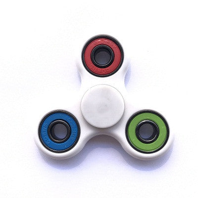 Hand Spinner Fidget Toy for Autism and antistress Tri-Spinner Anti-Stress 8 Kinds of Color spiner ,Stress Wheel Of Funny toys