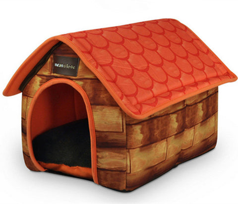 Luxury Pet  Kennel  Washable Pet Cushions Large Soft Cat House Pet Dog Kennel For Huge  Pets GP161019-23