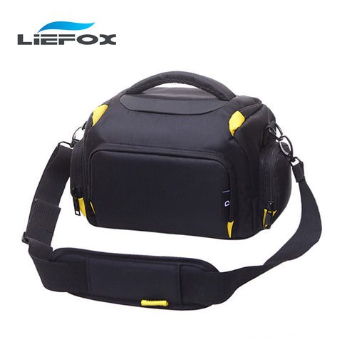 S M L Rain Proof Camera Case Bag for Nikon D3200 D90 D7000 D7100 D7200 D3300 D5300 DSLR Camera Bags photography Bag Video Bags