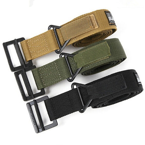 Military tactical nylon belt Black hawk tactical belt outdoor multifunctional canvas belt