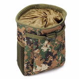 1pcs 15 x 8.5 x 20cm 600D Nylon Polyester Dump Drop Reloader Pouch Military Tactical rifle bag hunting Pouches