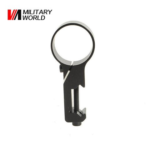 Laser Scope Side Mount Airsoft Hunting Rifle Scope Mount Base Paintball Tactical Flashlight Clip Holder Hunting Accessories