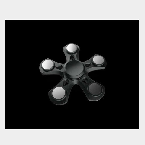 3 Colors Five-Spinner Fidget Toy Plastic EDC Hand Spinner For Autism and ADHD Anxiety Stress Relief Focus Toys Kids Gift