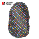 Military World Nylon Rain Bag Waterproof Backpack Bag Dust Rain Cover For Camping Hiking Cycling Luggage Pouch Cover Case Tool