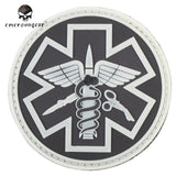 Emerson Paramedic PVC Patch Outdoor Tactical Military Durable Embroidery Patch Accessory For Combat Outdoor Hunting Rescue Badge