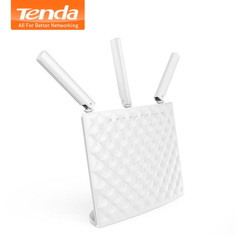 Tenda AC15 Wireless AC1900 Dual Band Gigabit WIFI Router,WIFI Repeater, 1300Mbps at 5GHz, 600Mbps at 2.4GHz,USB 3.0 Port, IPv6