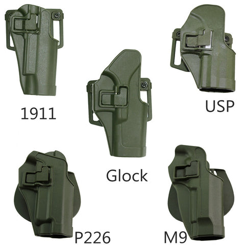 Outdoor Tactical Gun Holster Hunting Military Airsoft Paintball Belt Pistol Handgun Holster for  M9/USP/1911/SIG P226