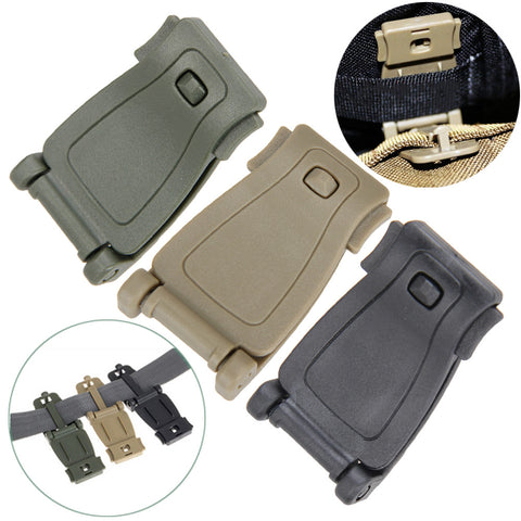 Outdoor 5Pcs/Set  Molle Strap Backpack Bag Webbing Connecting Buckle Clip Military Backpack Accessory EDC GEAR Travel Kits