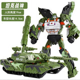 19cm Height Transformation Deformation Robot Toy Action Figures Toys
