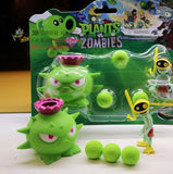 2017 Hot games PVZ Plants vs Zombies Peashooter PVC Action Figure toys Model best Toy Gifts Toys For Children Brinquedos