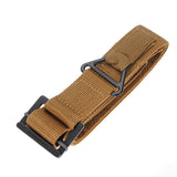 1pcs 4 X 120cm Nylon Adjustable Survival Tactical Belt Emergency Rescue Military belt outdoor travel emergency tool