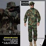 Camouflage Suit Sets Army Military Uniform Combat Airsoft War Game Uniform Jacket Pants Uniform