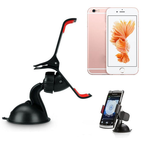 Reliable Universal Universal Car Windshield Mount Stand Holder For iPhone 5S 6S / 6 Plus Phone GPS