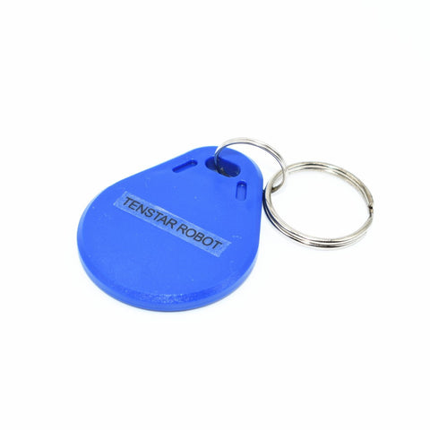 10pcs/lot 13.56MHz RFID IC Key Tags Keyfobs Token NFC TAG Keychain For Arduino