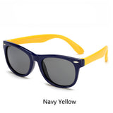 Ralferty TR90 Flexible Kids Sunglasses Polarized Child Baby Safety Coating Sun Glasses UV400 Eyewear Shades Infant oculos de sol