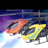 LeadingStar New Mini RC Helicopter 2.5CH Mode2 Radio control ABS Crash Resistant Drones With LED Light Toys For Children Gift