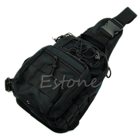 Outdoor Shoulder Military Tactical Backpack Camping Travel Hiking Trekking Bag