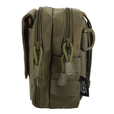 600D Nylon Waterproof Military Molle Sport Bag Utility Travel Waist Bag Sling Shoulder Bag Hiking Outdoor Pouch