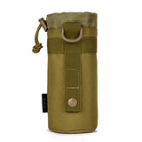 Genuine small outdoor kettle kettle bag hanging sleeve waist tactics bottle bags  package attached  plug bottle Sports Running