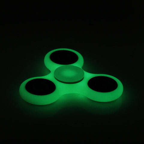 White/Black Hand Spinner Fidget Toy Plastic EDC Hand Spinner For Finger Autism and ADHD Tri-spinner