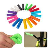 BMX MTB Cycle Road Mountain Bicycle Scooter Bike Handle bar Rubber End Grip Soft