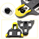 2 pcs Road Bike Cycling Self-locking Pedal Cleats Set For Shimano SM-SH11 SPD-SL