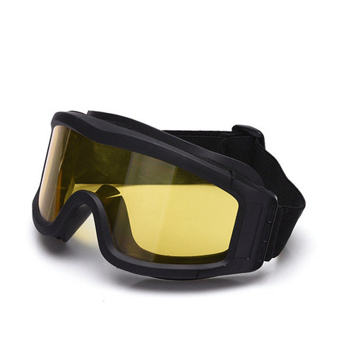 Top Quality Military Airsoft Tactical Goggles Shooting Glasses GX1000 Black 3 Lens Motorcycle Windproof Wargame Goggles